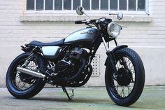 Honda CM125 Brat Style by Dauphine-Lamarck #motorcycles #bratstyle #motos   caferacerpasion.com