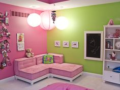 Pink colour bedroom decoration multi color bedroom walls bedrooms design in modern home style light green wall paint with regarding pink and green walls
