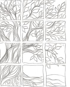Wind Blowing Trees Drawing Trees Blowing Wind