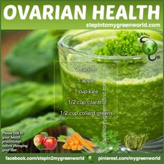 ☛ A POTENT ovarian health drink for you ladies.  Did you know?  The American Cancer Society estimates that about 22,240 women will receive a new diagnosis of ovarian cancer.  About 14,230 women will die from ovarian cancer.Ovarian cancer is the ninth most common cancer among women, excluding non-melanoma skin cancers.  FOR ALL THE OVARIAN DRINK DETAILS:  http://www.stepintomygreenworld.com/healthyliving/ovarian-health-drink/  ✒ Share | Like | Re-pin | Comment