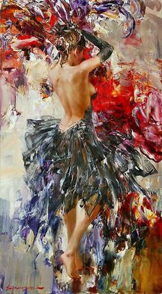 Dance is costume, color, rhythm, movement, expression... art by Ivan Slavisky