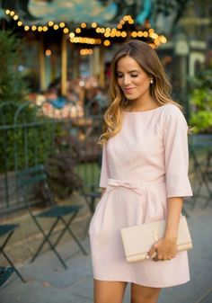 Blush Dress - Gal Meets Glam