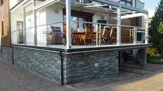 Nowoczesny taras wykonany przy użyciu profilu Renoplast zdj5 Room, Furniture, Home Decor, Balcony, Bedroom, Decoration Home, Room Decor, Rooms, Home Furnishings