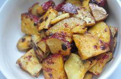 Honey and Chipotle glazed Sweet Potatoes