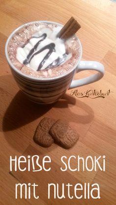 Ala's Kunterbunt - Heiße Schokolade mit Nutella und Zimt