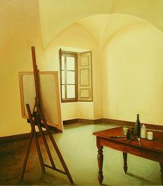 Luci e ombre nella stanza - 80x70 cm