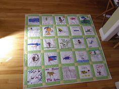 Teachers Keepsake Quilt   Flickr: Intercambio de fotos