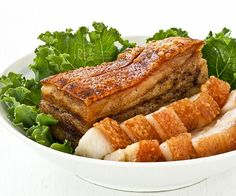 Crispy , crunchy, crackly Roast Pork Belly is a favorite of many. It can be made at home with just 4 ingredients and a little bit of patience.