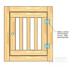 Large Wood Pet Kennel End door.to make for the built in kennel for the dogs in kitchen. Dog Crate Table, Wooden Dog Crate, Wooden Dog Kennels, Dog Crate Furniture, Diy Dog Crate, Diy Dog Kennel, Large Dog Crate, Pet Kennels, Diy Dog Bed