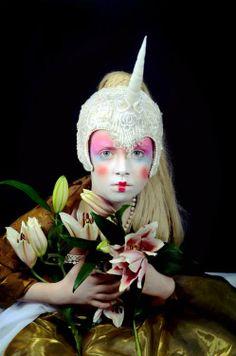 Magic Unicorn by VJ Von Art photography & art  #art #photography #fashion #magic #floral #unicorn
