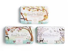 Hand In Hand's enriched shea butter soap is slated to launch in Anthropologie stores nationwide come September, but until then, be the first to snap up this sudsy set — only on R29 Shops!