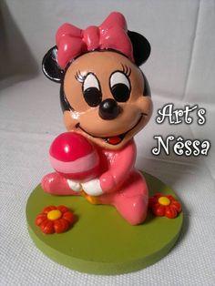 Art's Nêssa - Artesanato: Minnie Baby