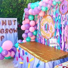 We're ending today on a sweet note with these fantastic designs! 💌 That's all for today - don't forget to DM us your event featuring our linens for a chance to be showcased! Tap each image to see who created the event! First Birthday Party Themes, Donut Birthday Parties, Donut Party, Birthday Party Decorations, Birthday Ideas, Donut Decorations, Birthday Banners, 5th Birthday, Grown Up Parties