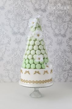 REGAL AND WHIMSICAL Macaron Tower