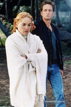 Basic Instinct (1992) Sharon Stone and Michael Douglas