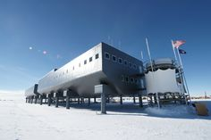 amundsen-scott south pole station | design:Amundsen-Scott South Pole Station