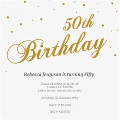 Free Birthday Invitation Best Of Golden Flakes Birthday Invitation Template Free 60th Birthday Party Invitations, Free Birthday Invitation Templates, 80th Birthday, Printable Invitations, Birthday Ideas, Golden Birthday, Birthday Celebration, Birthday Parties, Wedding Invitations