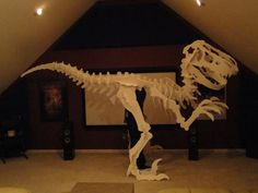 The ultimate T-Rex costume, and how it was built.
