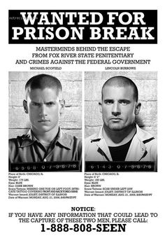 affiche  Prison Break 168319