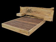 Hey, I found this really awesome Etsy listing at https://www.etsy.com/listing/251875807/spalted-maple-live-edge-platform-bed