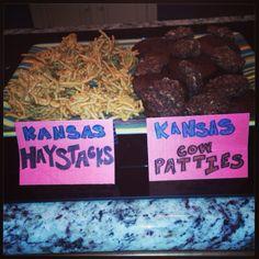 """Kansas"" haystacks and ""Kansas"" cow patties! Classroom Art Projects, Art Classroom, Kansas Facts, County Fair Theme, Cow Patties, Nursing Home Crafts, Kansas Day, Groundhog Day, Homeschool Math"