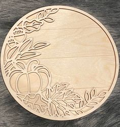 Fall Projects, Cnc Projects, Laser Cutter Projects, Wooden Wreaths, Handmade Gift Tags, Pumpkin Wreath, Fall Pumpkins, Fall Crafts, Laser Cutting