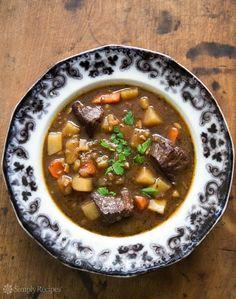 Irish Beef Stew by @simplyrecipes.