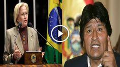 Política na Rede: Senadora se exalta e 'manda recado' ao Presidente da Bolívia após ele ameaçar militares brasileiros e defender Dilma; veja vídeo