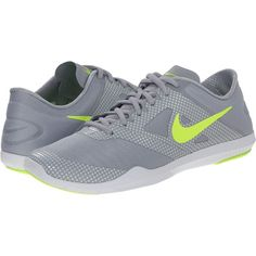 Nike Studio Trainer 2 Print Women's Cross Training Shoes, Gray ($60) ❤ liked on Polyvore