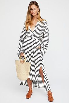 Yacht Club Midi Dress