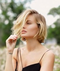 Love this simple care free undone bob