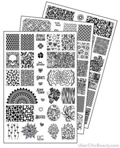 Efficient Kads Nail Art Stamp Plate Fashion 023 Cap Cartoon Lovely Design Nail Stamping Template Decorations Diy Image Template To Be Distributed All Over The World Nail Art Templates Nail Art