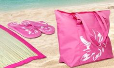 Groupon - Beach Bag Set for £7 (65% Off). Groupon deal price: £7