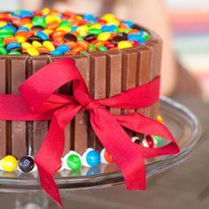 M Kit Kat Cake