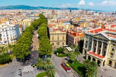 Barcelona, Spain | 16 Aerial Photographs That Will Change Your Perspective Of The World | Azamara Club Cruises
