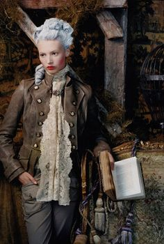 Marie Antoinette Vogue Spain 2009
