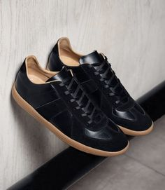 cheap for discount daedf 289a1 Beckett Simonon MORGEN CLASSIC - FULL GRAIN LEATHER - BLACK sneakers. USE  code  RE  for 20% off!  leathersneakers  sneakers  handmade  footwear  shoes  ...