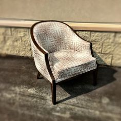 The Maksim Chair really is fresh off the truck and sure is pretty!