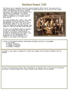 Worksheets Magna Carta Worksheet early representative government magna carta mayflower compact common core