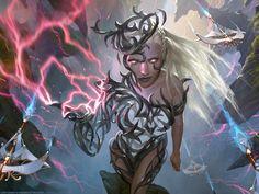 Breya, Etherium Shaper - MTG by ClintCearley.deviantart.com on @DeviantArt
