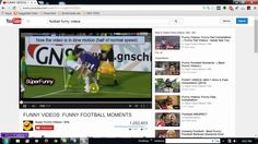 How to watch YouTube video in slow motion Funny Football Videos, Watch Youtube Videos, Best Funny Videos, Make A Video, Computer Network, How To Run Faster, Internet, In This Moment