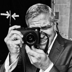 Diane Arbus, Lights Camera Action, Celebrity Photographers, George Clooney, Celebs, Celebrities, Leica, Pose Reference, Famous People