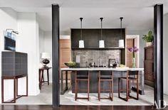 ad100 designers on their favourite ways to create a unique #kitchen | @meccinteriors | design bites