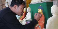 The artist plans to make statues affordable for every Bhutanese. Read more about the The clay statue maker of Ramtogtok: