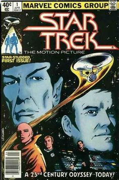 This is the cover of Issue 1 of the Marvel Comic's ongoing series spinning off from Star Trek: The Motion Picture. The first three issues were an adaptation of the film and the remaining 15 were original stories of varying quality.I used to own all 18 issues but they are no longer in my possession for reasons.