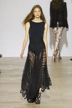 The 7 Key Trends From London Fashion Week for Spring 2016: London Fashion Week once again bought us some very memorable shows, and while the designers took their inspiration from a huge variety of sources, a group of key Spring 2016 trends brought them all together.