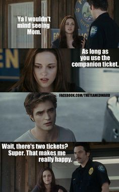 NO NO NO! Read the book, it give Edward more character. The movie ruined the ticket scene.