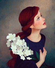 ️*.:。✿*✿✿.:。✿*✿.。.:*✿.✿・。.:* Art And Illustration, Beautiful Drawings, Cute Drawings, Disney Princess Art, Indian Art Paintings, Digital Art Girl, Anime Art Girl, Cartoon Art, Cute Wallpapers
