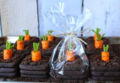 3-D Carrot Patch Cookies by Munchkin Munchies.