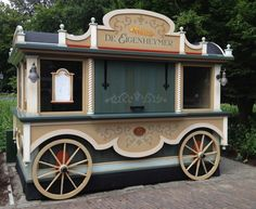 food cart ideas | Efteling Gets a New Food Cart…